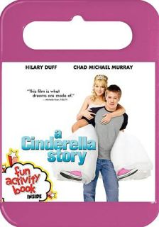 Cinderella Story DVD, 2010, WS P& With Book