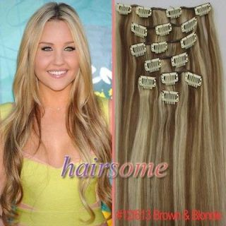 colored clip hair extensions in Womens Hair Extensions