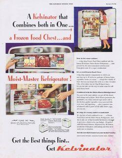 1946 vintage ad kelvinator refrigerator 1 19 0 from united