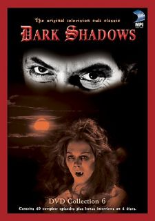 Dark Shadows   Collection 6 DVD, 2003, 4 Disc Set