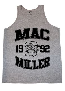 Tank Top T shirt most dope high life wiz khalifa crewneck Grey/Black