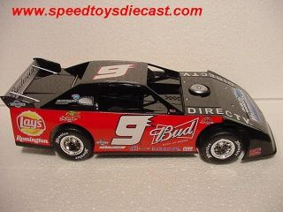 ADC # 9 BUDWEISER KASEY KAHNE PRELUDE RACE DIRT LATE MODEL NASCAR 124