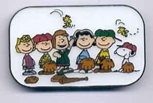 Gang Lucy Charlie Sally Rerun Patty Linus Woodstock ENAMEL PIN