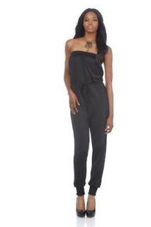 New KIM KARDASHIAN KOLLECTION Pinup BLACK Jumper Pants Jumpsuit Dress