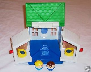 little tikes toy doll house w 2 little people time