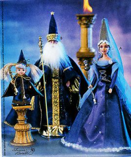 KELLY BARBIE KEN OOP WIZARD CAMELOT GANDALF COSTUME DOLL PATTERN