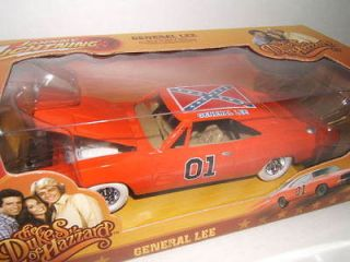 24 JL *WHITE LIGHTNING* General Lee DUKES OF HAZZARD Dodge Charger