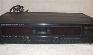 kenwood graphic equalizer ge 4030 time left $ 40 00