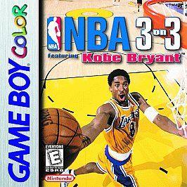 NBA 3 on 3 Featuring Kobe Bryant Nintendo Game Boy Color, 1999