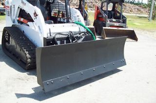 Telehandler 72 4 Way Hydraulic Snow Plow/Dozer Blade,Quick Attach