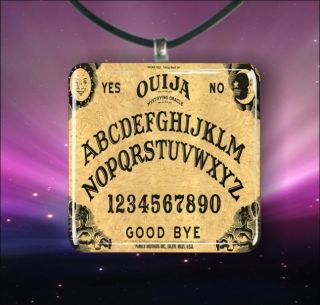 ouija board 1 3 8 glass pendant necklace from canada
