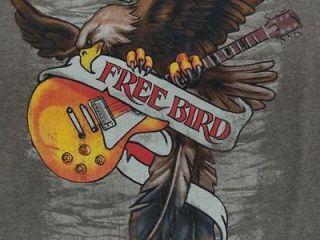 lynyrd skynyrd t shirt free bird l