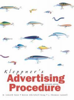Kleppners Advertising Procedure by Karen King, J. Thomas Russell and
