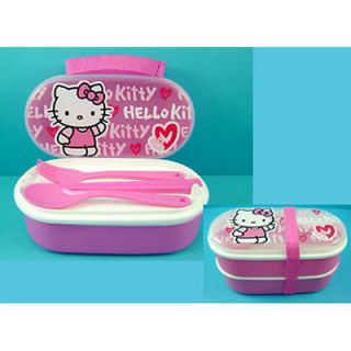 LATEST Hello Kitty Food Storage Container Lunch Box Case NEW