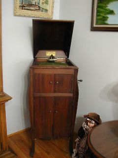 Vintage Victor Talking Machine Co. Victrola Wind Up Phonograph 1920s W