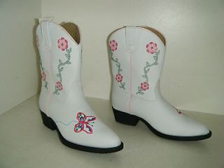 laredo cowboy boots size 3 m youth girls used