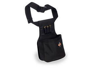 TRAP RANGE SHOOTING SHOTGUN SHELL POUCH LARGE BLACK BAG AMMO