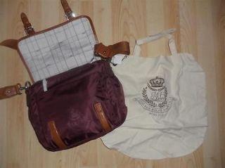 BNWT Ralph Lauren Weymouth Crossbody Messenger Bag Retail $198
