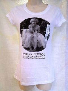 marilyn monroe juniors t shirt assorted sizes brand new