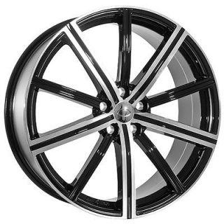 22 inch Land Rover 2009 Range Rover HSE Sport Black Wheels Rims