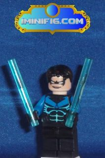 custom lego batman minifig nightwing 015a time left $ 14 49 buy it now