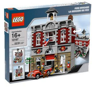 LEGO CREATOR FIRE BRIGADE (House Station) 10197 New & Sealed in Box