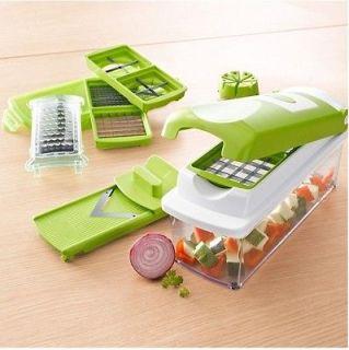 FASHIO Fruit Vegetable Nicer Dicer Kitchen Tools Cutter Plus Chop