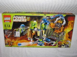 lego power miners 8191 lavatraz lego 8191 new one day