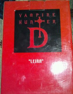 Vampire hunter D figures bloodlust Leira bust extremely rare nib