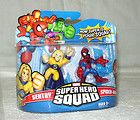 MARVEL SUPER HERO SQUAD SENTRY & SPIDER MAN 2 PACK ACTION FIGURE