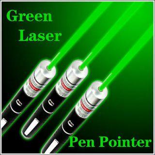 532nm Powerful Astronomy Green Beam Light Laser Pointer Pen Class 3A