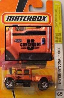 MATCHBOX #65 International CXT, 2009 (CARD HAS MINOR CREASE)