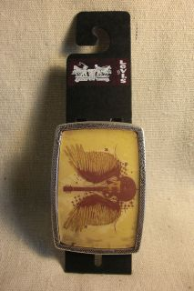 levi s metal belt buckle on hanger nwt