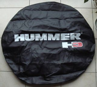 H3 Leather Spare Wheel Tire Cover 265/75R16, P285/70 R16 Good Fit