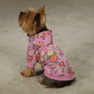 XX SMALL teacup yorkie poodle DOG HOODED SWEATSHIRT SWEATER clothes