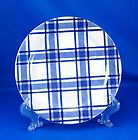 Lillian Vernon Display Plate Blue Porcelain Square MINT