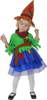 toddler scarecrow cute girls halloween costume 2 4t one day shipping