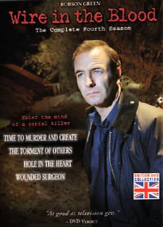 Wire in the Blood   The Complete Fourth Season DVD, 2008, 4 Disc Set