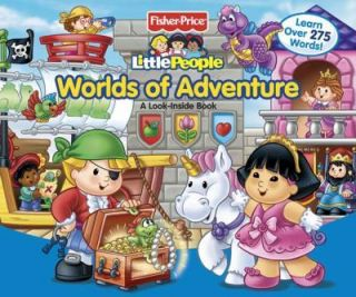 Fisher Price Little People Worlds of Adventure   NEW   Look Inside