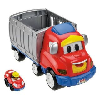 Fisher Price Little People Wheelies Zig The Big Rig Truck NEW QUICK