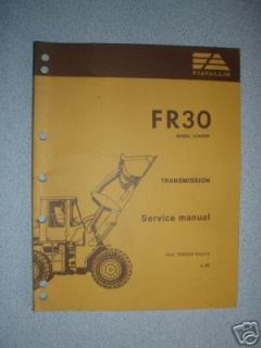 fiat allis wheel loader in Heavy Equip. Parts & Manuals