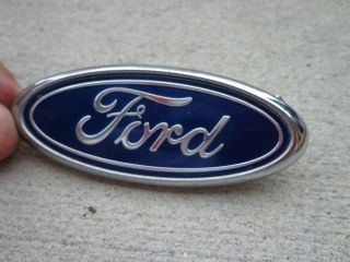 OEM Factory Genuine Stock Ford Mustang oval emblem badge decal logo