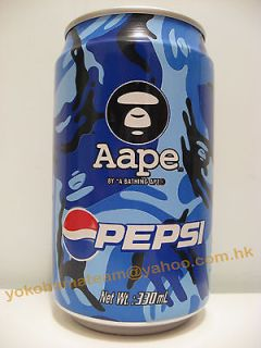 hong kong aape by a bathing ape pepsi limited can