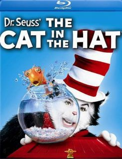 Newly listed Dr. Seuss The Cat in the Hat (Blu ray) *New*