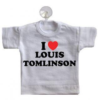 love louis tomlinson mini t shirt for car window