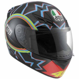 AGV K3 VALENTINO ROSSI 46 LIMITED MOTORCYCLE HELMET XL X LARGE