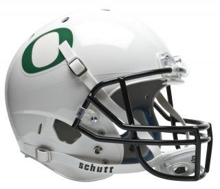 oregon ducks schutt air xp replica football helmet white time