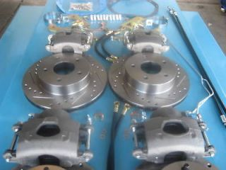 1967 67 camaro complete rear disc brake kit complete rear