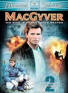 MacGyver   The Complete Second Season DVD, 2005, 6 Disc Set