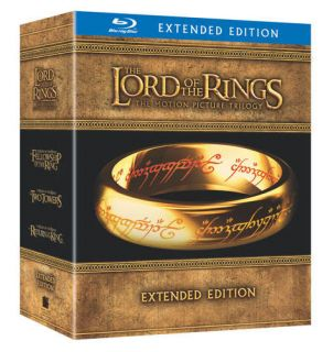 Lord of the Rings Extended Trilogy Blu ray Disc, 2011, Canadian
